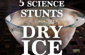 5 phänomenale Wissenschaft Stunts, mit Trockeneis getan