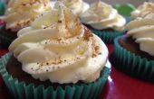 Pumpkin Spice Latte Cupcakes mit Schlagsahne Sahne Frosting