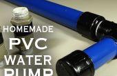 Wie erstelle ich eine PVC-Wasser / Luft / Vakuum-Pumpe!