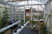 Hydroponische, automatisierte, Vernetzung, Klima-kontrollierten Gewächshaus-Projekt: Bau