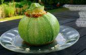 Zucchini (Zucchini) Schalen (GF)