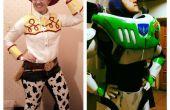 Buzz Lightyear und Jessie das Cowgirl