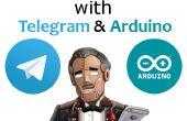 Persönliche Assistentin mit Telegramm & Arduino.