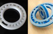 3D Druck-Kugellager auf einen Schlag