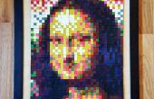 Geschmolzene Kreide Mosaik