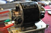 Die Wiederbelebung einer WW2 Dynamotor, wie Röhrenradios ging mobile während des Krieges