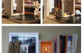Geheimfach Sperrholz Lampe