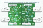PIEZO-elektrische angetriebene KOMBINATORISCHE ELEKTRONIKSCHLOSS mit NXP AXP Logik Gatter
