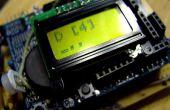 Arduino Morse-Code Schild