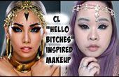"""CL """"Hallo Hündinnen"""" inspiriert Make-up"""