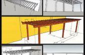 Wie man eine einfachen Hinterhof Pergola bauen