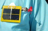 Einfach solar powered Pocket u-Boot mit Tiefenanschlag.