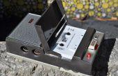 Wiederbelebung einen Norelco Philips Kassettenrekorder aus der 1960