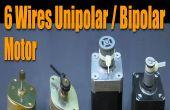 Stepper Motor Grundlagen - 6 Kabel Unipolar / Bipolar Motor