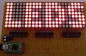 LED ist mit c#-Anwendung und Arduino gesteuert