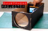 Einen Smartphone-Projektor mit einem Schuhkarton bauen