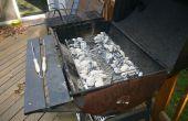 Ersatz Kohle-Tray oder Pfanne für ein Holzkohle-Grill