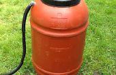Regenwassernutzung: regen Barrel DIY