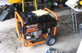 Machen einen regen Beweis tragbaren Generatorgehäuse