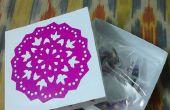 Geschenk-Box und Dekoration Papier