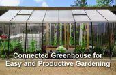 Einem angeschlossenen Gewächshaus für einfache und produktive Gartenarbeit