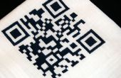CNC-Stickerei: QR-Code