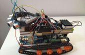 Johnny5 Arduino Roboter DfRobotshop Rover mit Fernbedienung HTML-Schnittstelle