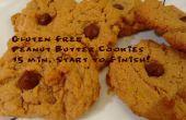 Gluten-freie Erdnussbutter-Plätzchen: 15 Minuten Anfang bis Ende!