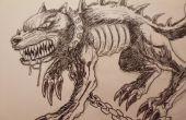 Gewusst wie: zeichnen Sie einen Dämon Hund