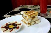 Klassische cremige Hummus