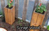 Schrott Holz Garten Planters