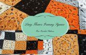 Lacy Flower Granny Square – kostenlose Häkelanleitung