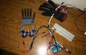 Handschuh gesteuert Roboterhand - billige und einfache Version