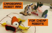 Karton Roboterarm für billige Roboter