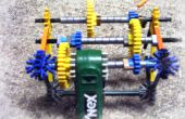 K ' NEX 3-Gang-Getriebe