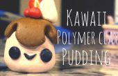 Kawaii Polymer Clay Pudding