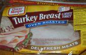 Einfach und lecker Türkei wickeln