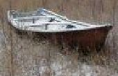 Bauen ein kleines Ruderboot