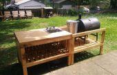 Hinterhof-Küche aus zurückgefordert Materialien hergestellt