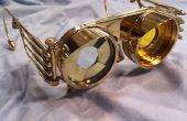 Steampunk Brille Iris mit austauschbar Linsen
