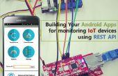 Bau deine Android Apps für die Überwachung der IoT-Geräte mit REST-API