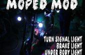 Moped Mod:Turn Signale + unter Körper Licht + Bremslicht