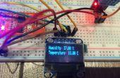 Arduino Nano mit DHT Sensor & OLED-