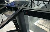 Verstellbare Höhe (sitzen / stehen) Schreibtisch Power Cord Hack