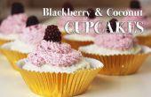 Wie Blackberry und Kokosnuss CUPCAKES machen