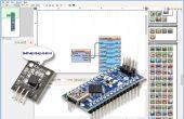 Arduino Nano: Lesen DS1820/DS18S20 Maxim ein Draht Thermometer Adresse mit Visuino