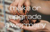Machen oder ein Wurm-Komposter zu aktualisieren