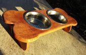 Dog Bowl Holztisch für Spot