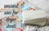 Ungewöhnliche Verwendungen für Trockner Bettwäsche