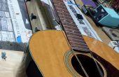 Simulieren Gitarre Saitenspannung für Bund Arbeit